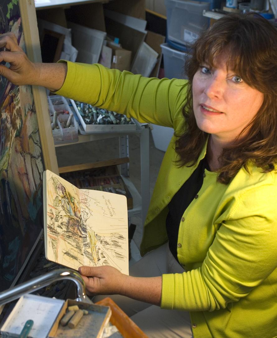 Artist Susan Luckey Higdon