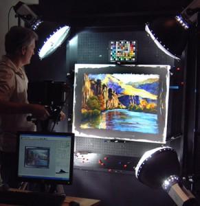 Digital Capture in Progress