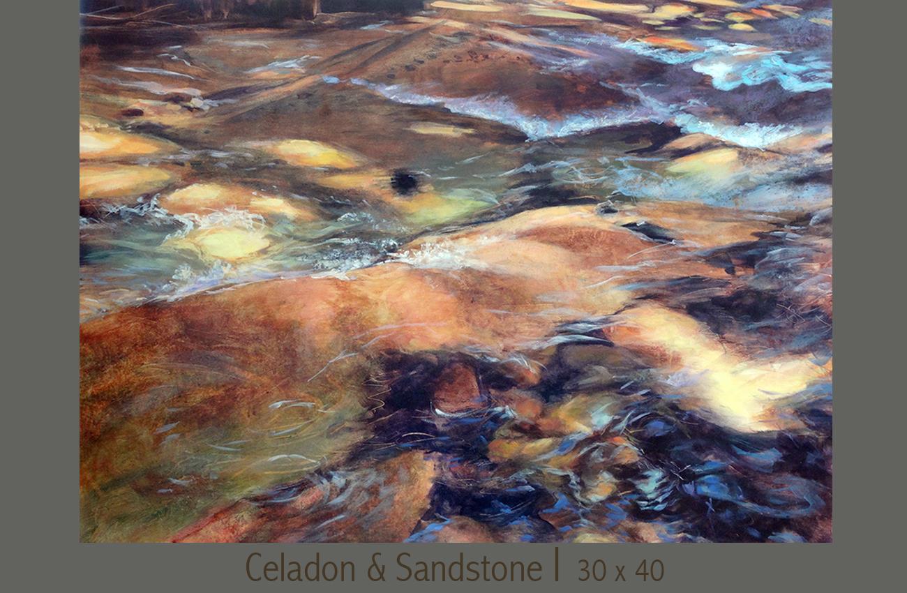 Celadon & Sandstone —Soda Creek Oregon