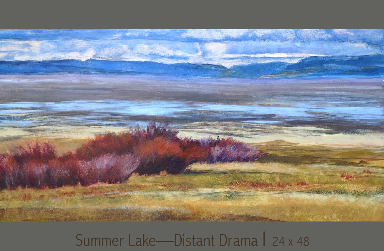 Summer Lake panorama